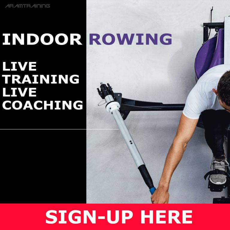 aramtraining live indoor rowing coaching - up to 7 sessions per week with live indoor rowing coaching - for experienced rowers and beginners
